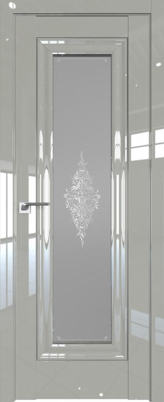 Цвет: Галька Люкс, Молдинг: Серебро, Стекло: Кристалл графит