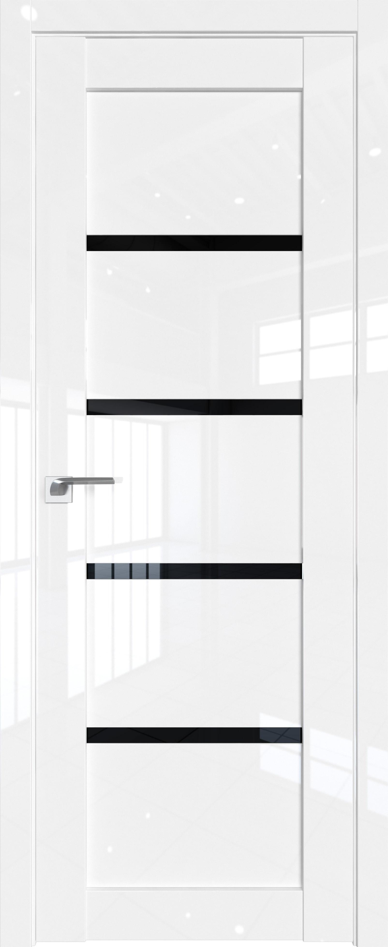 Цвет: Белый люкс, Остекление: Черный триплекс