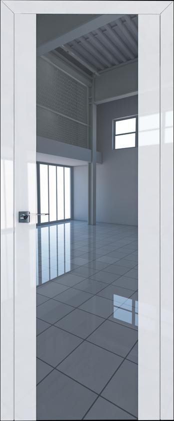 Цвет: Белый Люкс, Остекление: Триплекс зеркальный