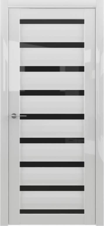 Цвет: Белый глянец, Остекление:  Черный акрилат