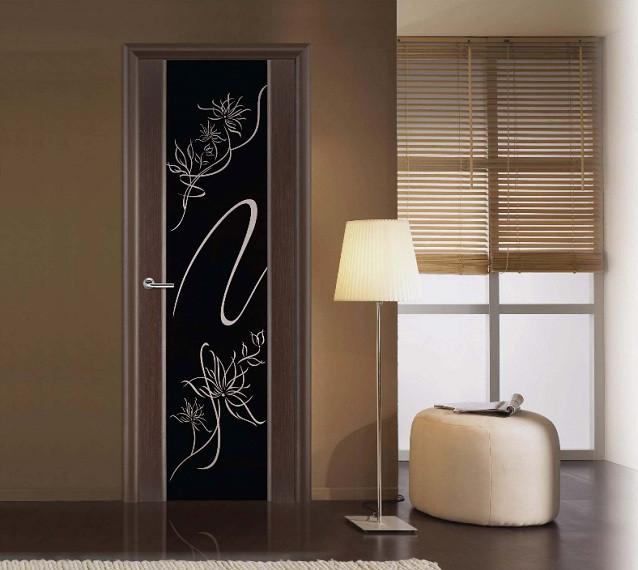 Дверь Альмека VellDoris в интерьере