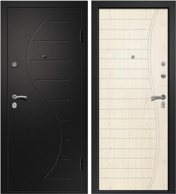 Входная дверь Аризона-210 медь антик / Светлый дуб ЭКО