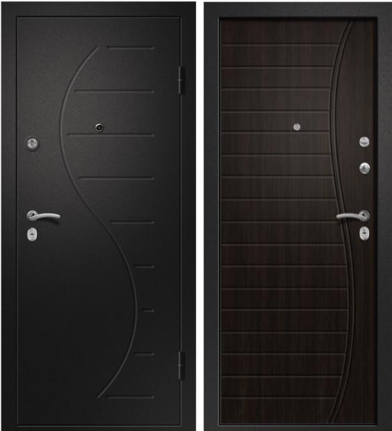 Входная дверь Аризона-210 медь антик / Венге ЭКО