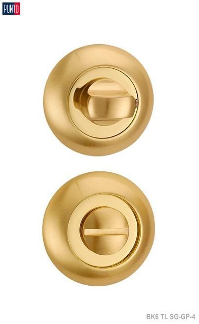 Фурнитура Punto Ручка поворотная BK6 TL SG/GP-4 матовое золото/золото