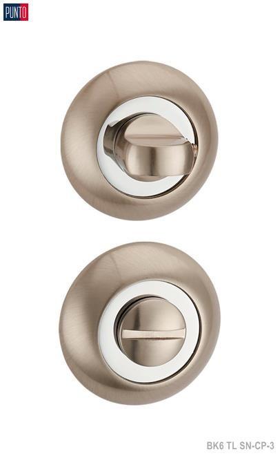 Фурнитура Punto Ручка поворотная BK6 TL SN/CP-3 матовый никель/хром