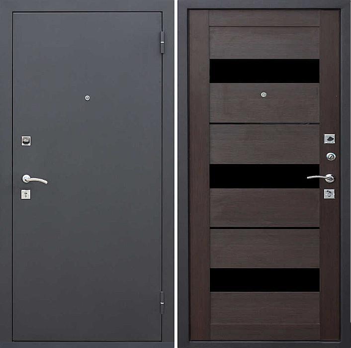 Входная дверь Гарда Муар/Темный кипарис - царга