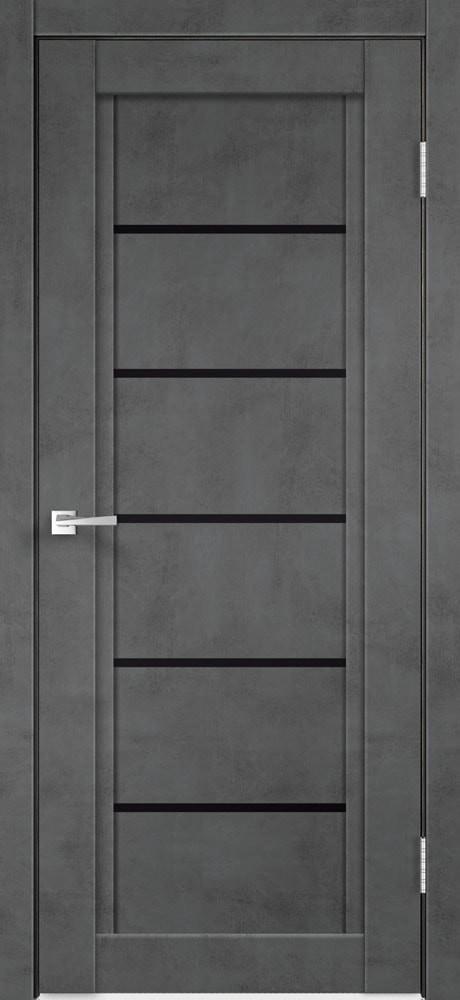 Цвет: Муар темно-серый, Остекление: Лакобель черное