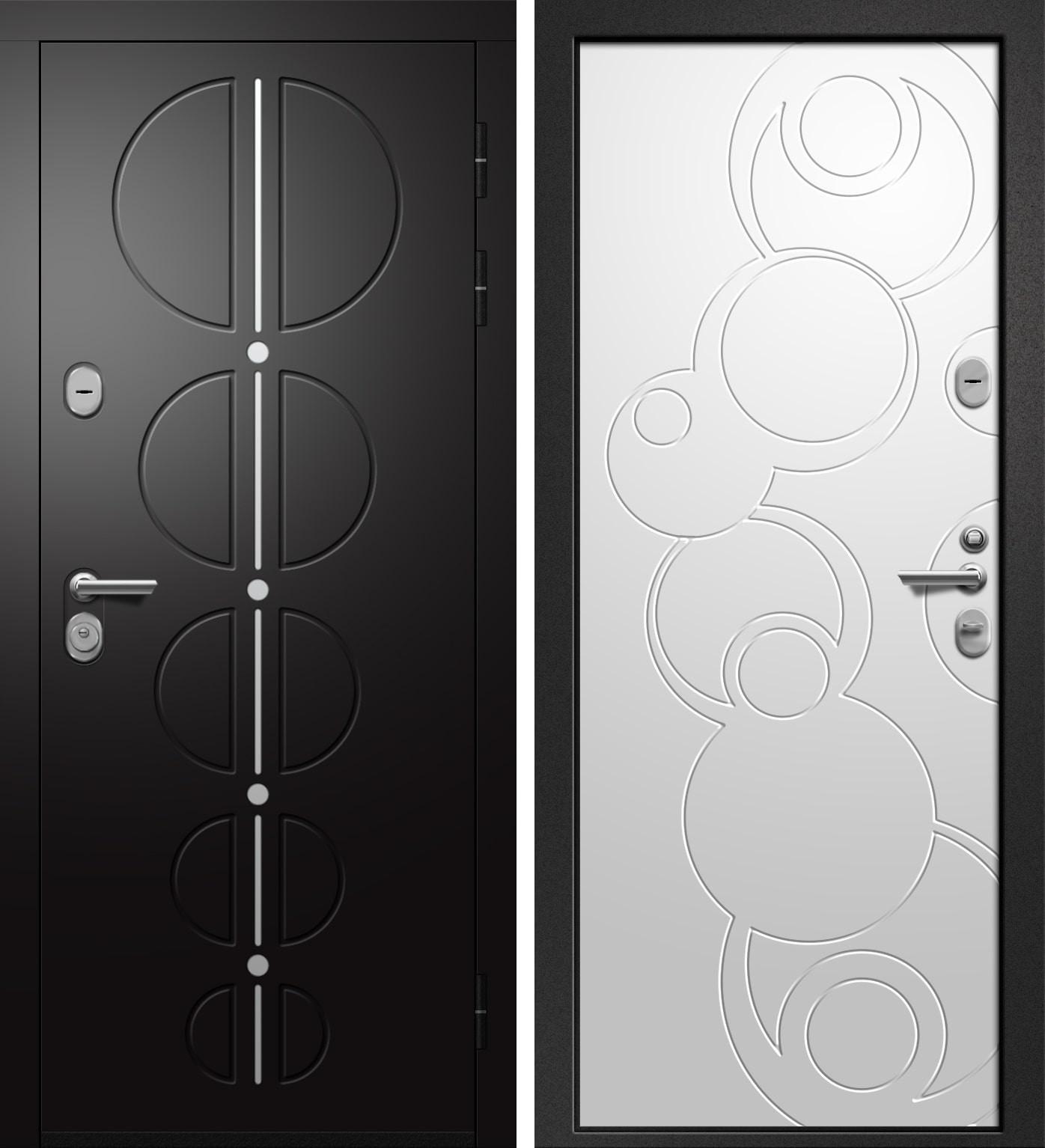 Ретвизан ОРФЕЙ-911 Софт черный+Силк Сноу 228/Силк Сноу 229/Сатин черный