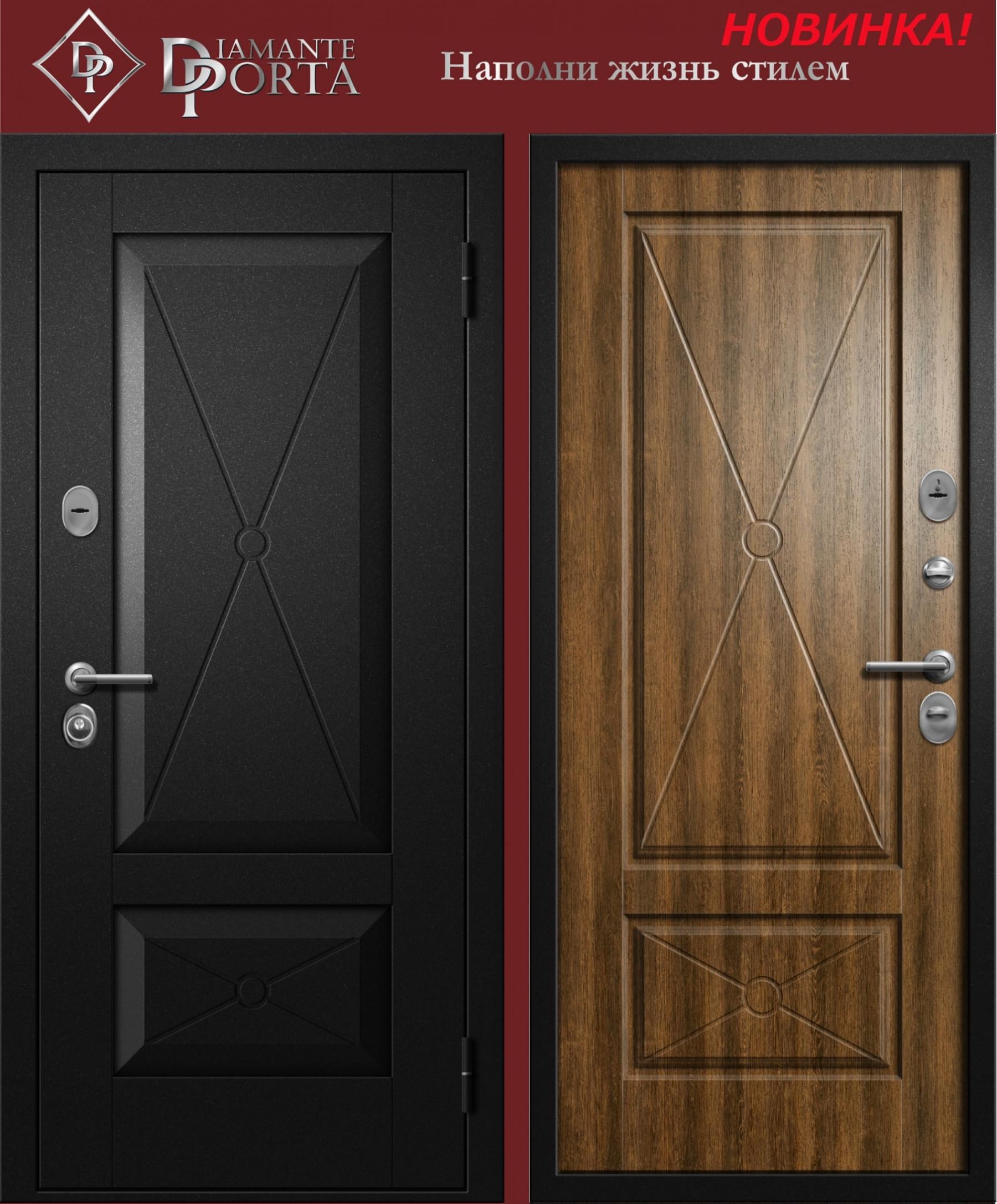Входная дверь ДИАМАНТ САНТО