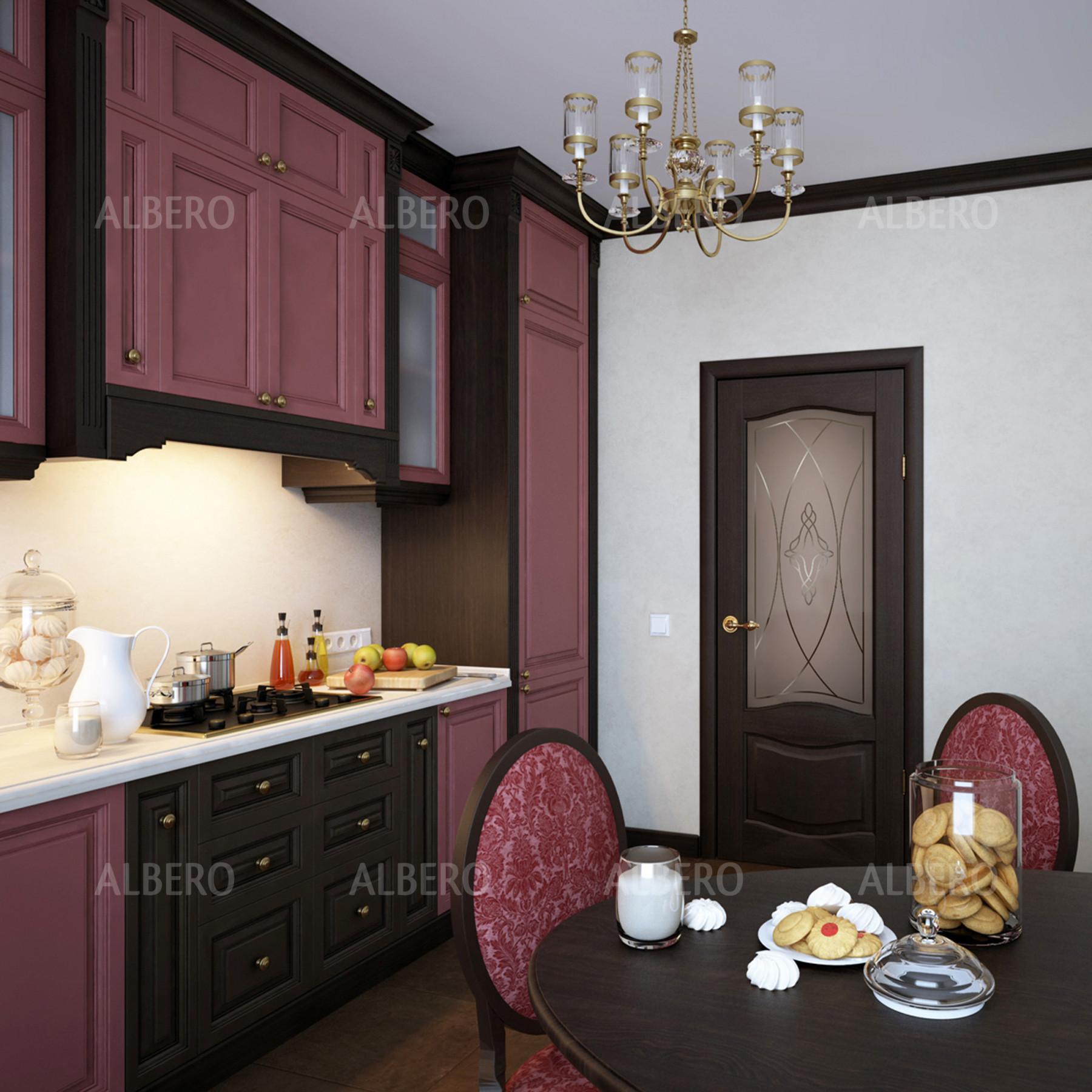 Двери Лувр 1 в интерьере