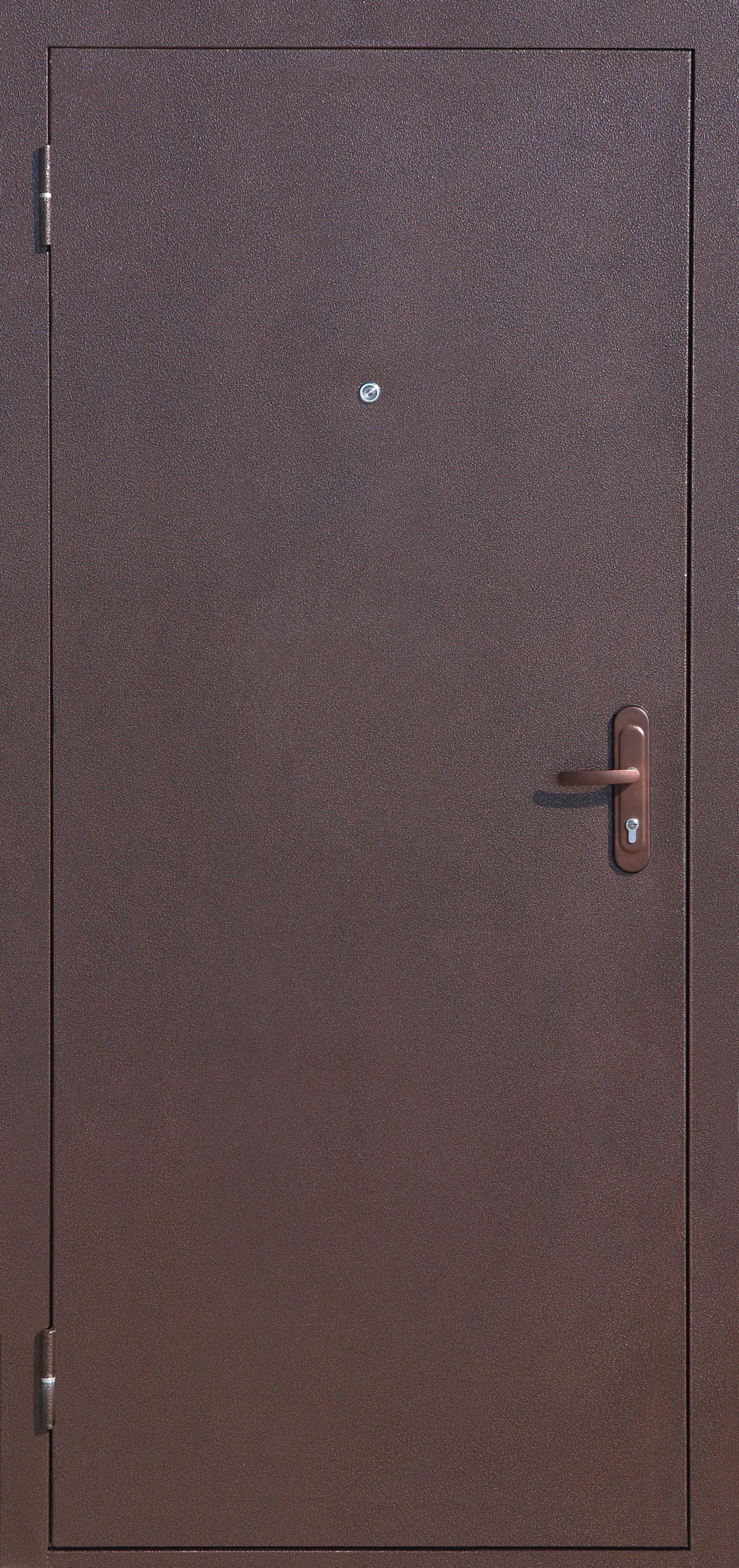 СтройГост 5-1 Металл/металл, однозамковая, Двухслойное полимерное покрытие: МЕДЬ