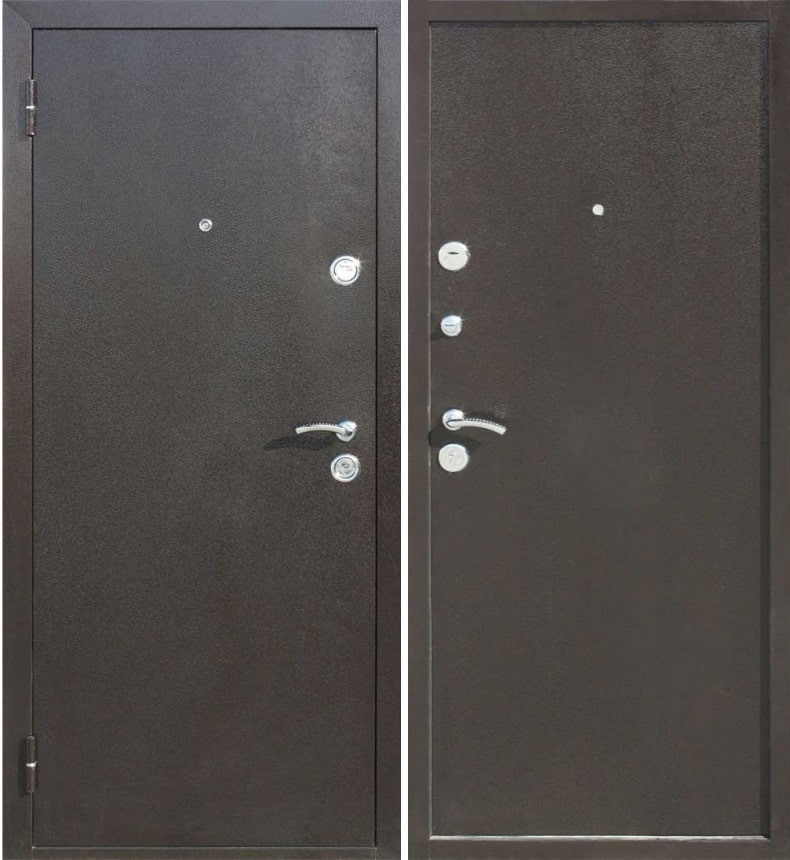 Входная металлическая дверь Цитадель ЙОШКАР  Металл/Металл Антик медный