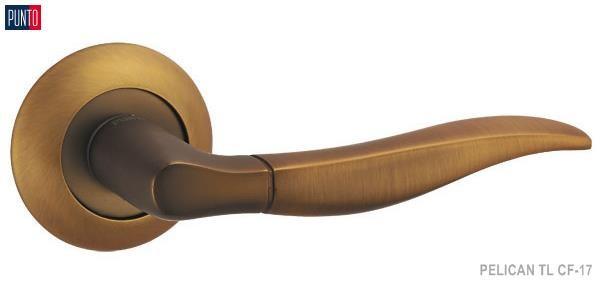 Фурнитура Punto Ручка дверная PELICAN TL CF-17 кофе