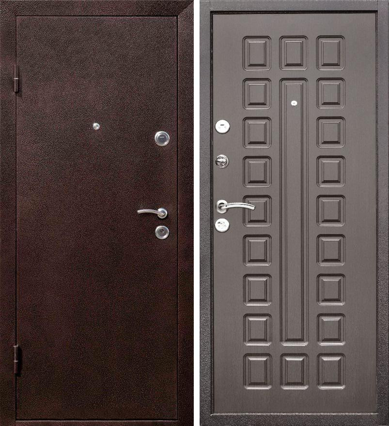 Входная дверь ЙОШКАР Медь антик/Венге