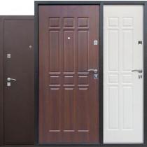 Входная металлическая дверь Цитадель Сопрано Дуб шоколад, Дуб молочный/Антик медный (В НАЛИЧИИ)