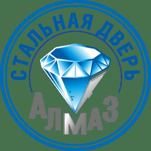 Логотип фабрики дверей Алмаз