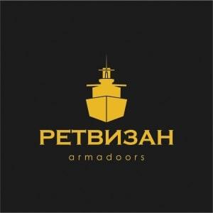 Логотип фабрики дверей Ретвизан